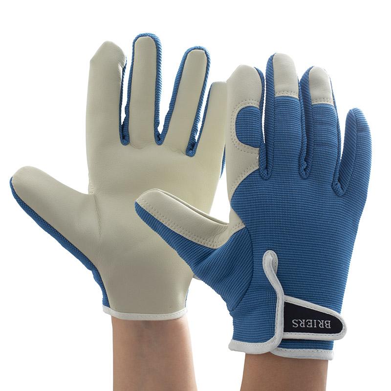 Briers ladies leather gardening gloves 5246 safetygloves for Gardening gloves ladies